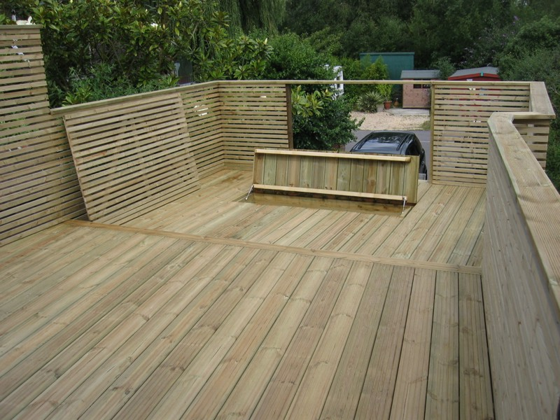 Garden decking outbuildings complete solutions for Decking at end of garden